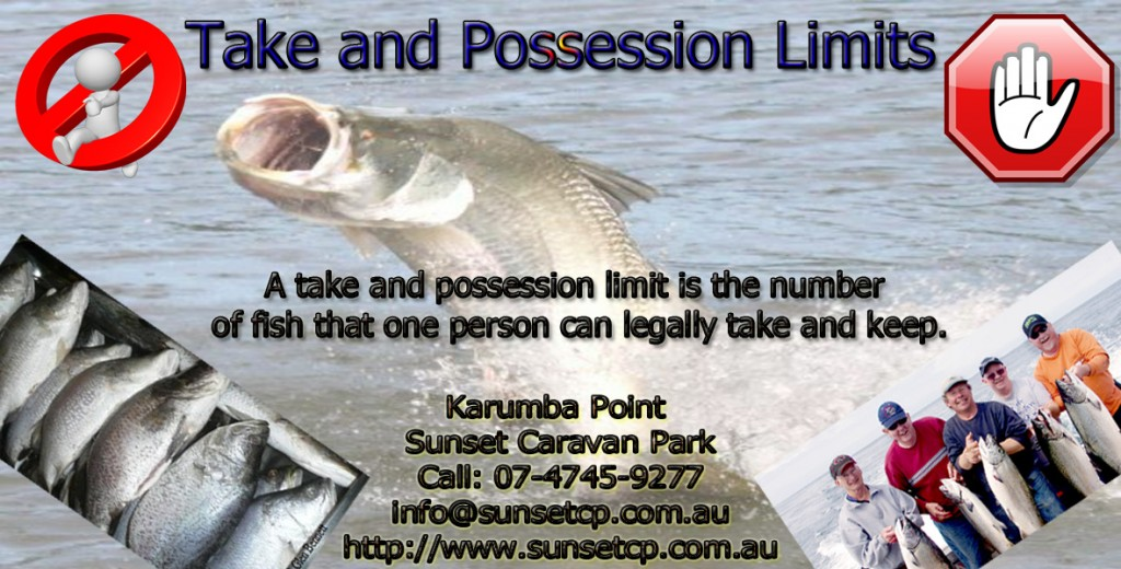 take and possession limits