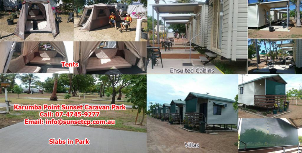 Best Accommodation Hotel in Karumba is Karumba Point Sunset Caravan Park