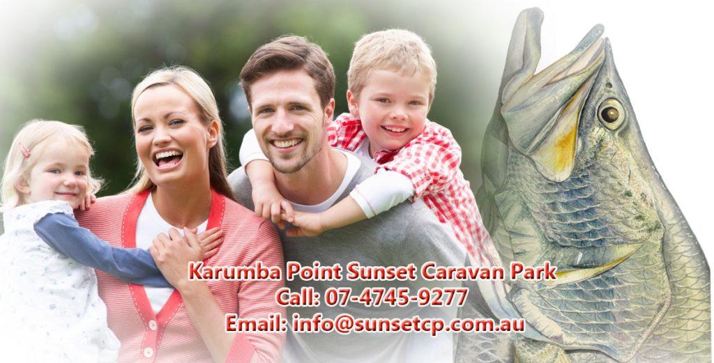 Child Holidays Karumba Point Sunset Caravan Park Fishing Barramundi