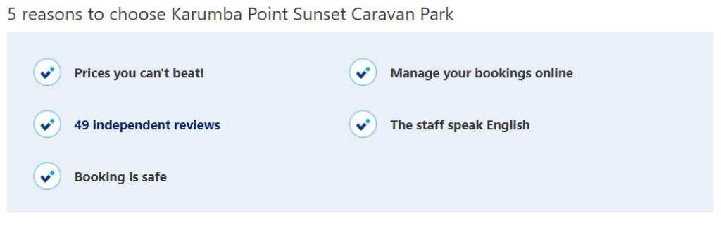 5 reasons to choose Karumba Point Sunset Caravan Park