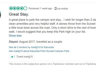 A great place to park the camper and stay... I wish for longer than 2 days. Very clean amenities and very helpful staff