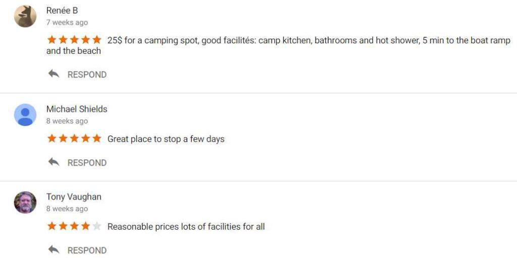 Karumba Point Sunset Caravan Park Google Reviews 29-09-2017