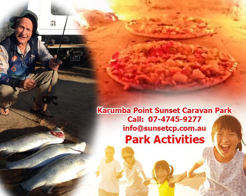Karumba Point Sunset Caravan Park Booking Tour Activities