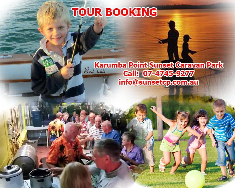 Karumba Point Sunset Caravan Park Tour Booking