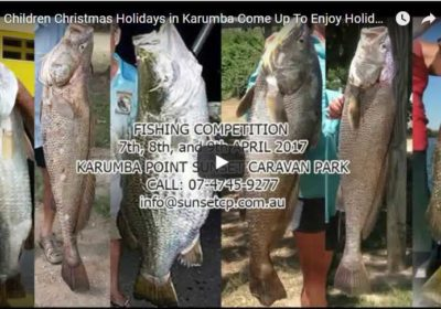 Children Christmas Holidays in Karumba Come Up To Enjoy Holidays CV