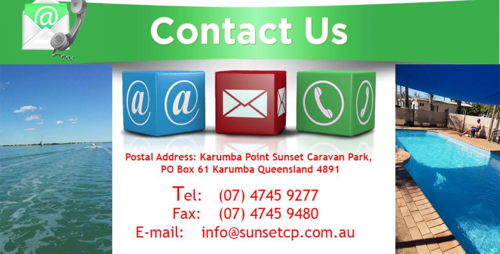 Contact US Karumba Point Sunset Caravan Park