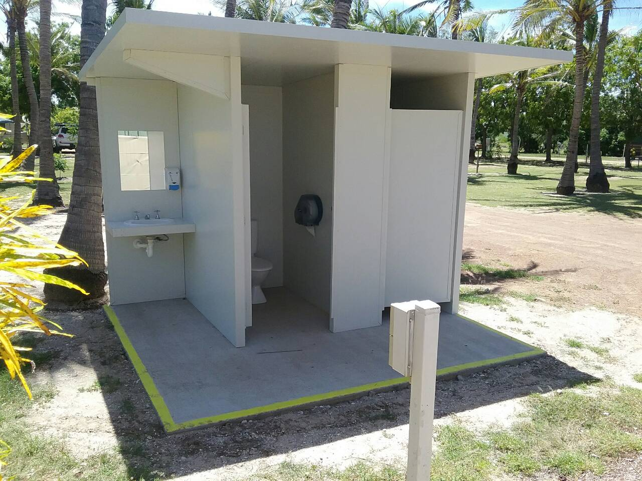 Pool Toilets