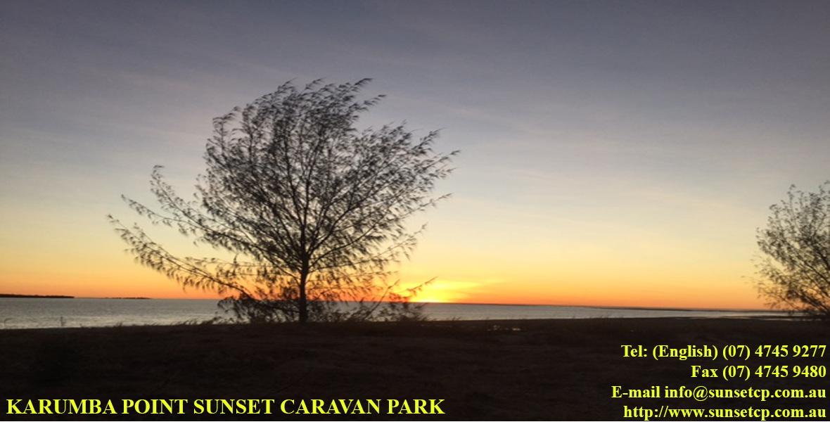Beautiful View of Susnet From Karumab Point Sunset Caravan Park