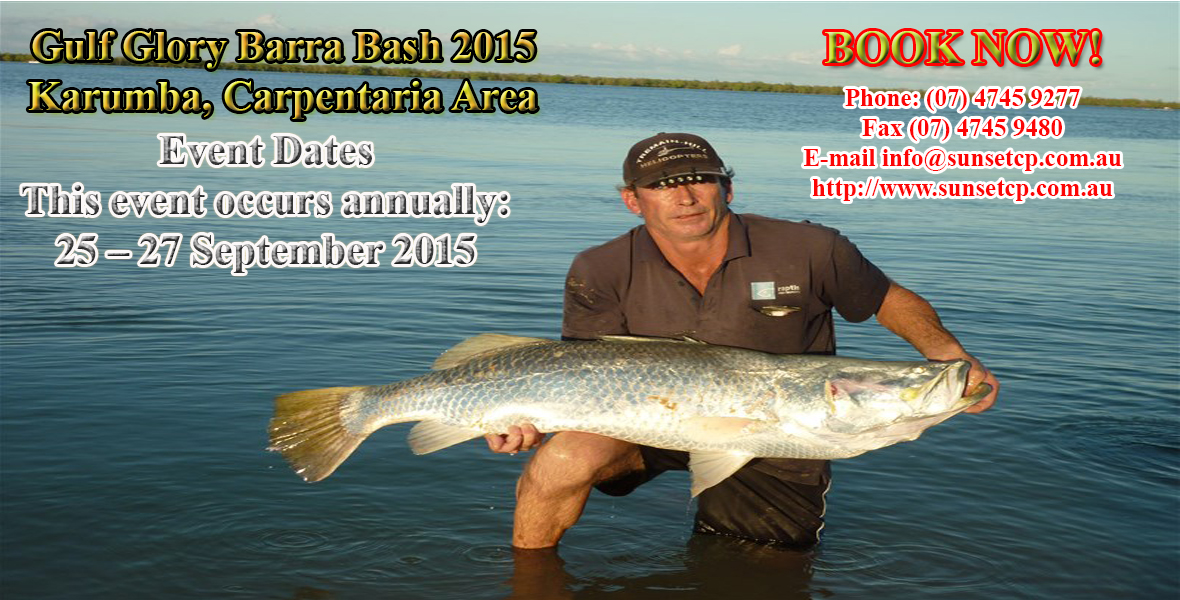 Gulf Glory Barra Bash 2015