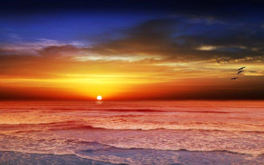 Karumba_Point_Sunset_Caravan_Park_Amazing_Sunset_View_Clouds