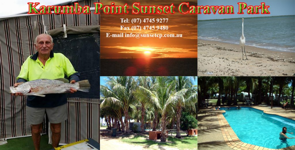 Catch Big Fish Karumba Point Sunset Caravan Park