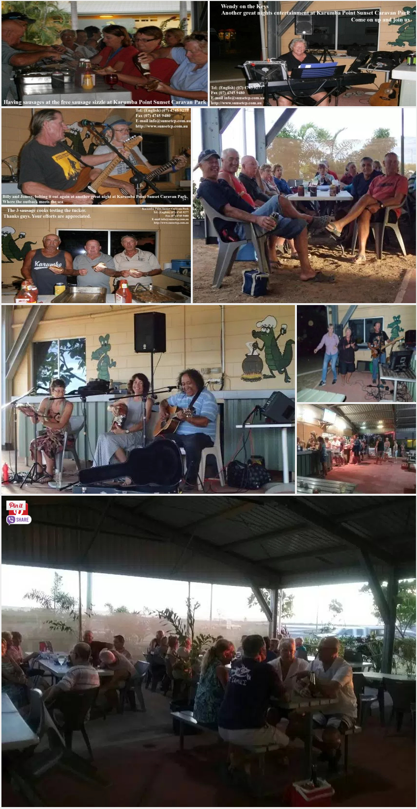 Karumba Point Sunset Caravan Park Friendly Environmnet Cafeteria