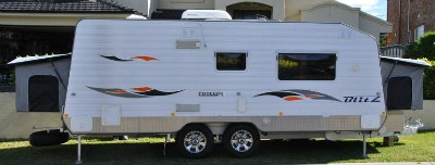The Full Pop Out Type of Caravans