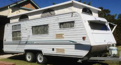 The Pop Top Caravan