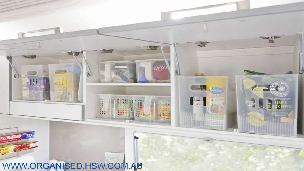Keep items together by investing in storage tubs