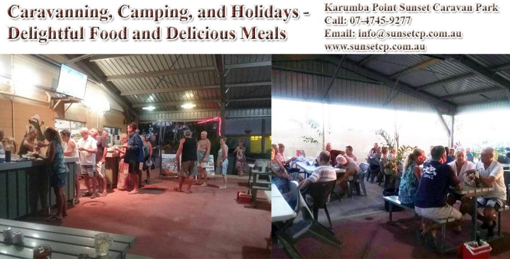 Cooking Facility Karumba Point Sunset Caravan Park