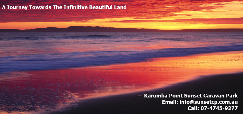 Karumba Point Sunset Caravan Park Amazing Sunset View