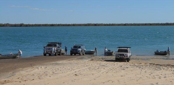 Karumba Point Boat Ramp Point