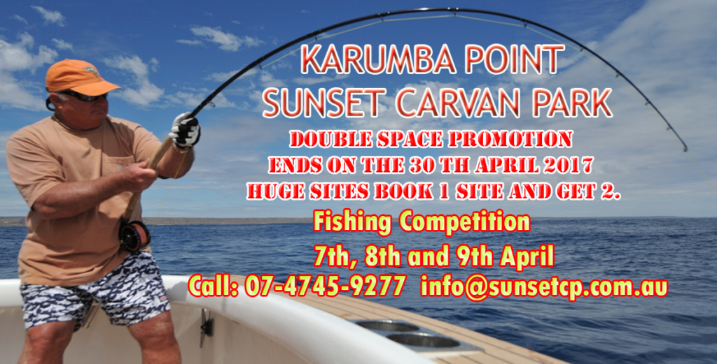 End of Double Space Promotion Karumba Tourist Attraction Fishing Competition 15-02-2017