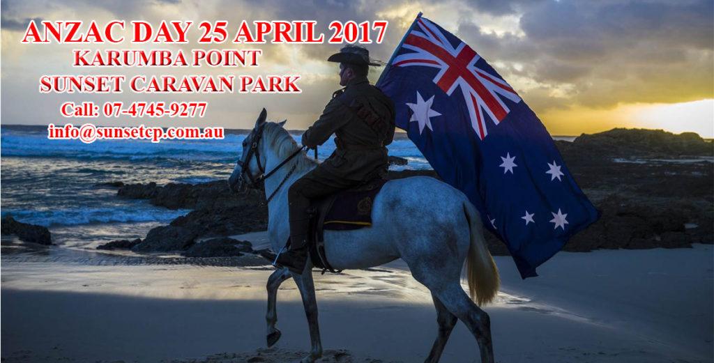 Karumba Point Sunset Caravan Park Anzac Day 2017