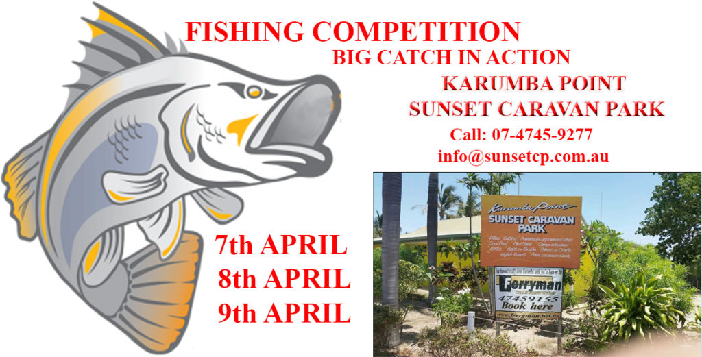 Karumba Point Sunset Caravan Park Easter Holidays Fishing Competition 2017