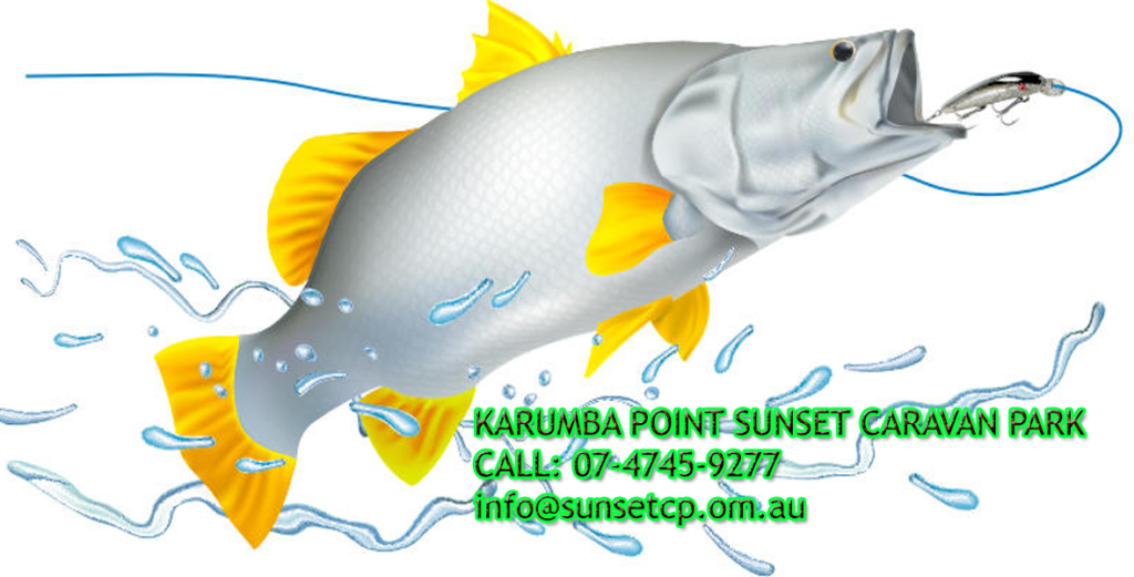 Karumba Point Sunset Caravan Park Fishing Season On Queensland Australia