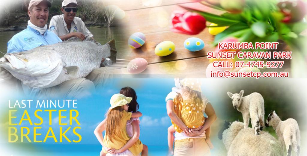 Karumba Point Sunset Caravan Park Easter Holidays