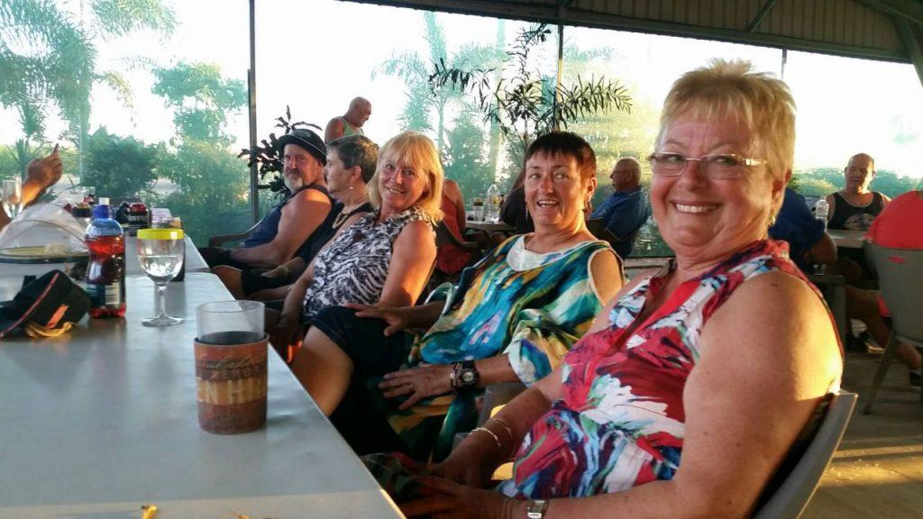 Karumba Point Sunset Caravan Park - Park Activities Cafe Friday Roast Night