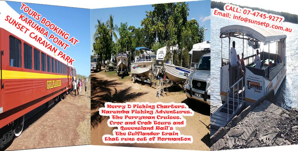 Tour Booking at Karumba Point Sunset Caravan Park