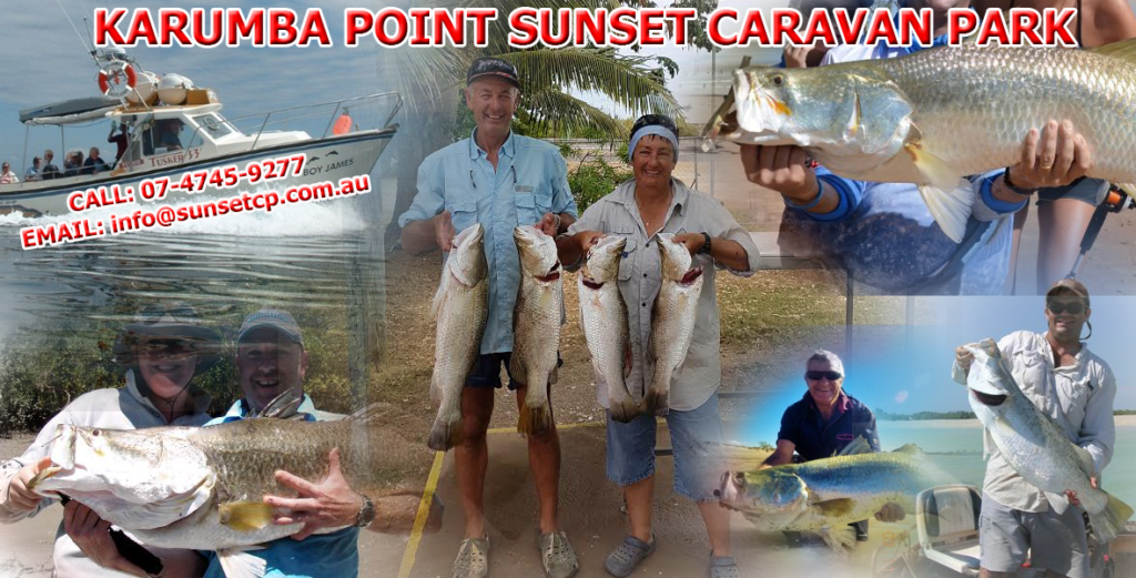 Karumba Point Caravan Park Accommodation Hotel Fishing Barramundi