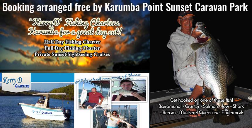 Kerry Fishing D Karumba Point Sunset Caravan Park Tour Booking