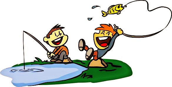 Animated Fishing in Karumba Point Sunset Caravan Park is Fun