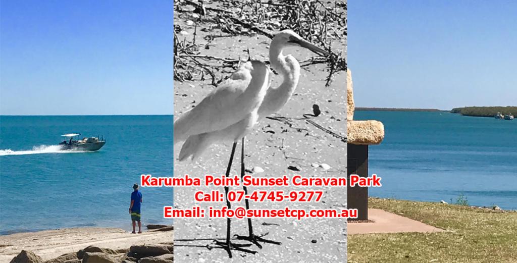 Karumba Point Sunset Caravan Park Beautiful Sea View
