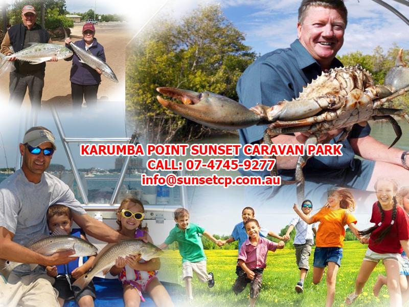 Karumba Point Sunset Caravan Park Children Holidays Barramundi Fishing