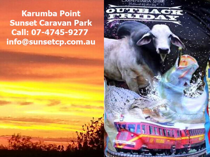 Outback Near By The Sea Karumba Point Sunset Caravan Park