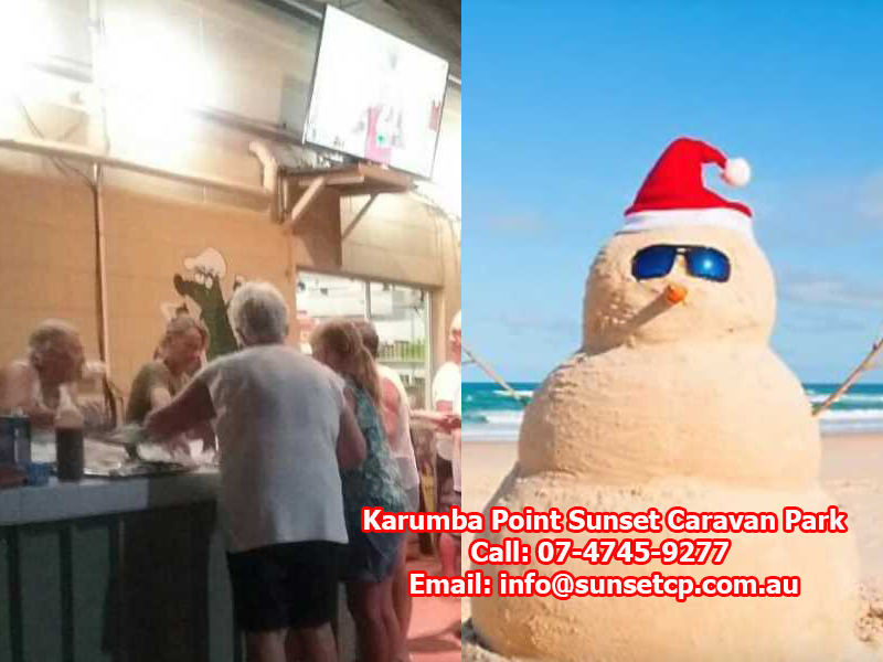Karumba Point Sunset Caravan Park Christmas Holidays