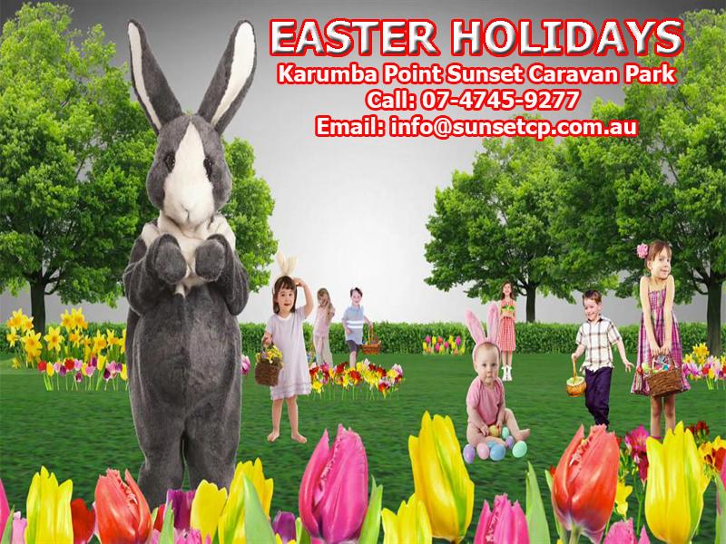 Easter Holidays April 2018 Karumba Point Sunset Caravan Park
