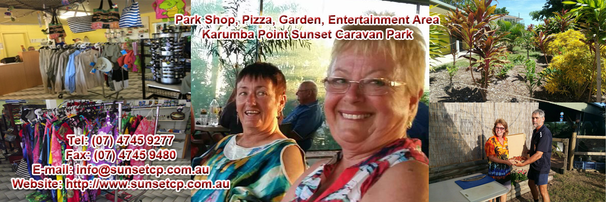 Shop View Karumba Point Sunset Caravan Park