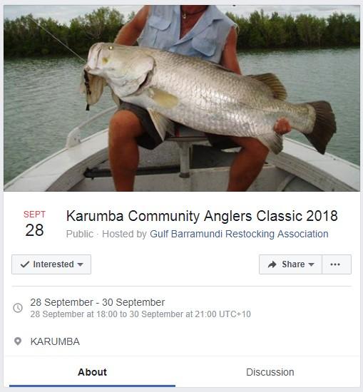 Karumba Community Anglers Classic 2018