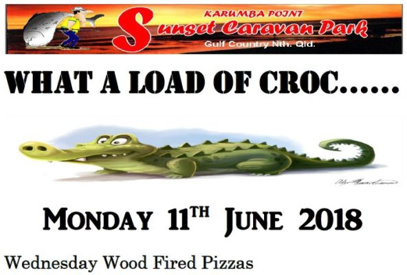 What a Load of Croc Monday 11th June 2018