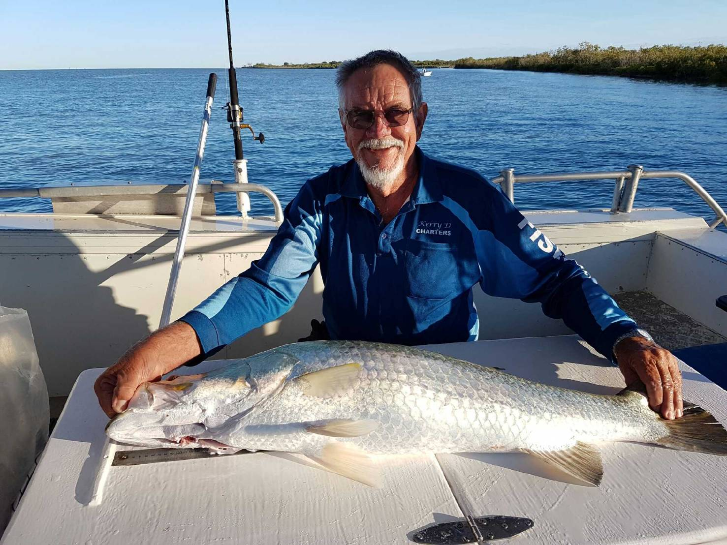 Paul the Captain of Kery D. Great big Barra and a great guy.